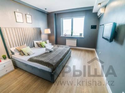 2-комнатная квартира, 65 м², 10/25 этаж посуточно, Каблукова 270 за 15 000 〒 в Алматы, Бостандыкский р-н