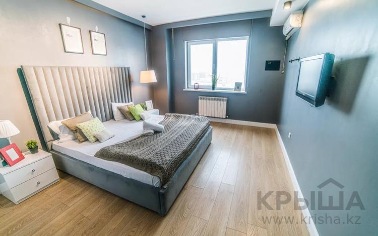 2-комнатная квартира, 65 м², 10/25 этаж посуточно, Каблукова 270 за 16 000 〒 в Алматы, Бостандыкский р-н