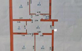 3-комнатная квартира, 143 м², 6/8 этаж, Батыс-2 за 25.3 млн 〒 в Актобе, мкр. Батыс-2