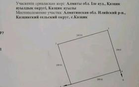 Участок 7.5 соток, КазЦИК за 3.5 млн 〒