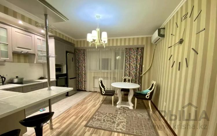 3-комнатная квартира, 117 м², 11/12 этаж, Рыскулбекова — Саина за 53.5 млн 〒 в Алматы, Бостандыкский р-н