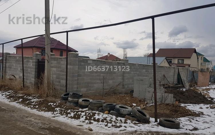 Участок 10 соток, мкр Акжар, Акжар мкр 24 — Талшын за 20 млн 〒 в Алматы, Наурызбайский р-н