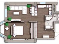 2-комнатная квартира, 70 м², 8 этаж помесячно