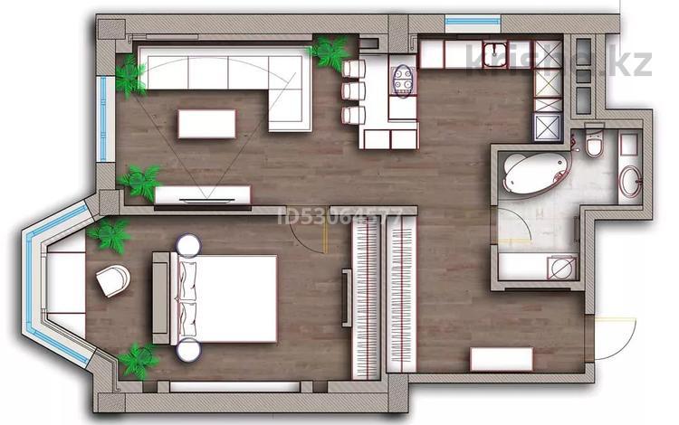 """2-комнатная квартира, 70 м², 8 этаж помесячно, 17-й мкр ЖК""""ГринПарк"""" за 350 000 〒 в Актау, 17-й мкр"""