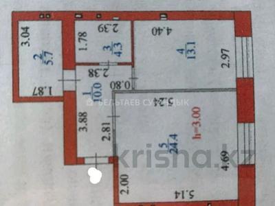 2-комнатная квартира, 58 м², 2/9 этаж, 22-4-ая ул. 3 за ~ 23.8 млн 〒 в Нур-Султане (Астана), Есиль р-н — фото 7