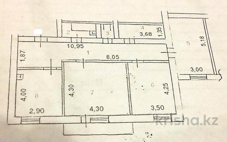 3-комнатная квартира, 87.4 м², 4/5 этаж, Шлюзная 10 за 17 млн 〒 в Усть-Каменогорске