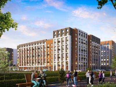 2-комнатная квартира, 77.75 м², 306 — ЕК-32 за ~ 29.8 млн 〒 в Нур-Султане (Астана), Есиль р-н — фото 3
