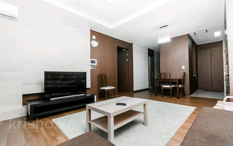 2-комнатная квартира, 77 м², 28 этаж посуточно, Кошкарбаева 10/1 за 15 000 〒 в Нур-Султане (Астана)