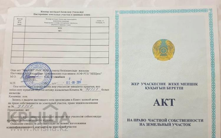 Участок 22 га, КазЦИК за 547.8 млн 〒