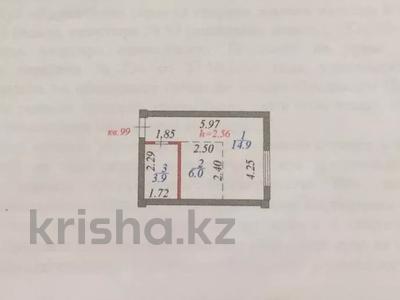 1-комнатная квартира, 24.8 м², 12/12 этаж, Алтыбакан 1 — Момышулы Сатпаева за 7.5 млн 〒 в Нур-Султане (Астана), Есильский р-н — фото 5