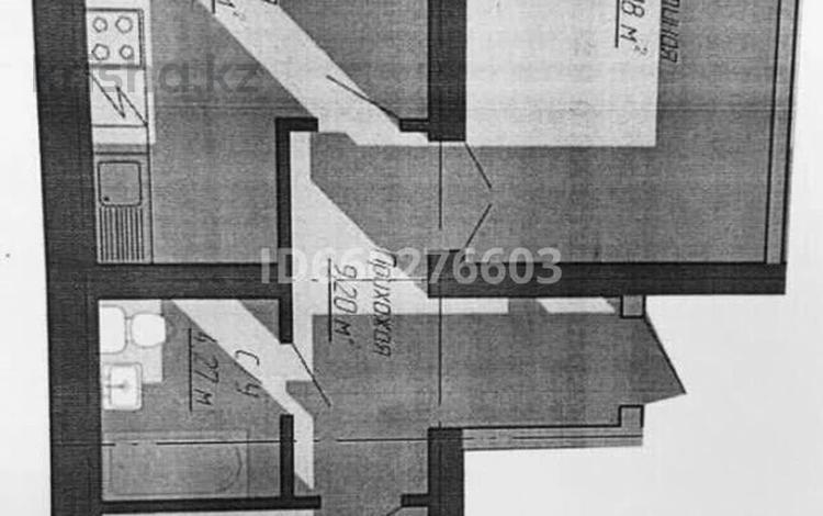 2-комнатная квартира, 61.79 м², 3/5 этаж, Мкр.5Б — Участок 48/1 за 9.5 млн 〒 в Косшы