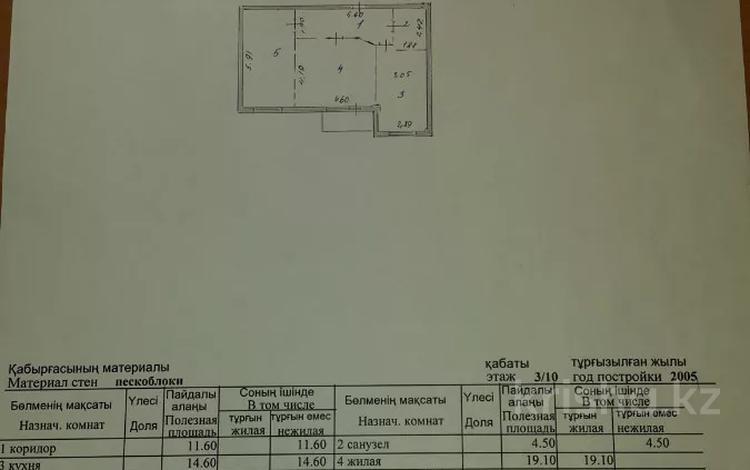 2-комнатная квартира, 70 м², 3/10 этаж, Каныша Сатпаева 23 за 24 млн 〒 в Нур-Султане (Астана), Алматы р-н