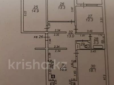 4-комнатная квартира, 93 м², 4/9 этаж, Ауэзова 12 — Толе би за 38 млн 〒 в Алматы, Алмалинский р-н — фото 20