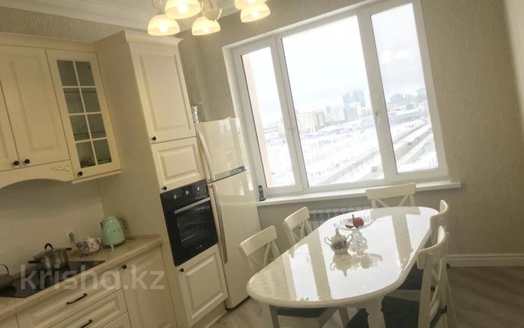 3-комнатная квартира, 111 м², 6 этаж помесячно, Мәңгілік Ел 53 — Улы Дала за 200 000 〒 в Нур-Султане (Астана), Есиль р-н