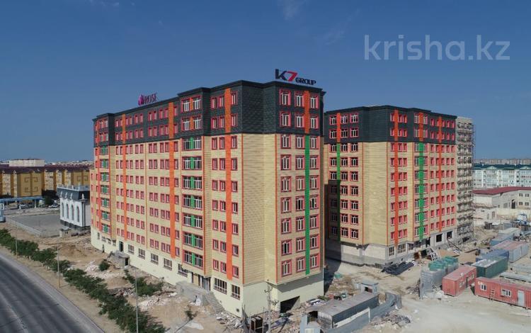 1-комнатная квартира, 54.27 м², 6/10 этаж, 31Б мкр 27 за ~ 10.6 млн 〒 в Актау, 31Б мкр