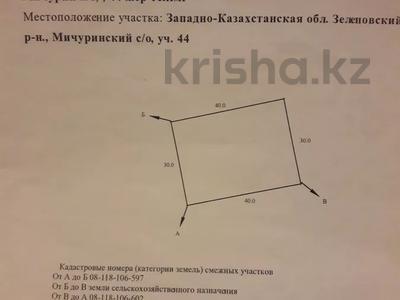 Участок 12 соток, Уральск за 3.2 млн 〒
