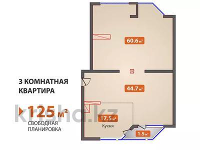3-комнатная квартира, 125 м², Думан-2 за ~ 33.6 млн 〒 в Алматы — фото 2