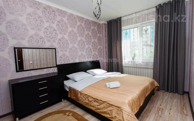 2-комнатная квартира, 70 м², 3/14 этаж посуточно, Сарайшык 5 — Елубая Тайбекова за 12 000 〒 в Нур-Султане (Астана), Есиль р-н