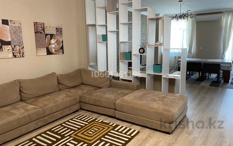 4-комнатная квартира, 180 м², 2/4 этаж помесячно, Токпанова 7 за 600 000 〒 в Нур-Султане (Астана), Алматы р-н