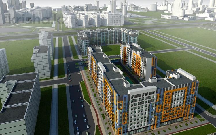 3-комнатная квартира, 82.85 м², Толе би — Е-10 за ~ 23.7 млн 〒 в Нур-Султане (Астана)