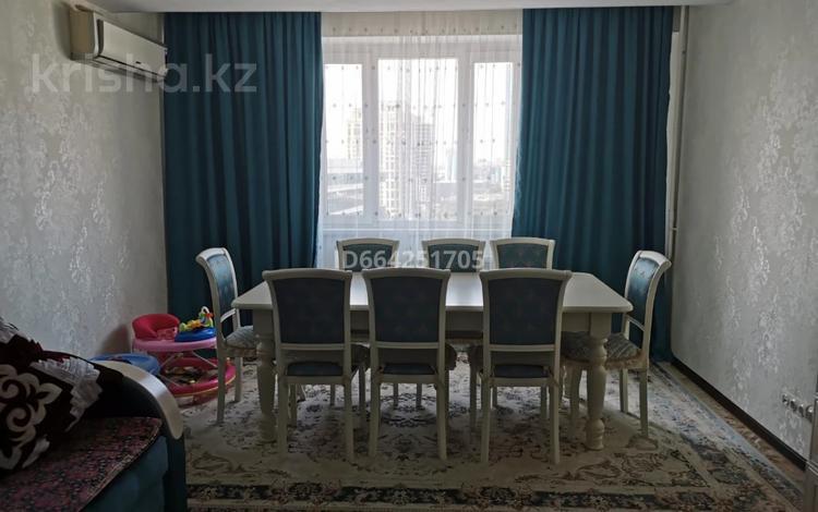 3-комнатная квартира, 93.5 м², 13/14 этаж, Сыганак 10 за 35 млн 〒 в Нур-Султане (Астана), Есиль р-н