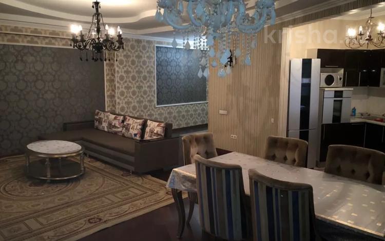 2-комнатная квартира, 100 м², 17/20 этаж по часам, Шевченко 154 — Муканова за 2 000 〒 в Алматы, Медеуский р-н