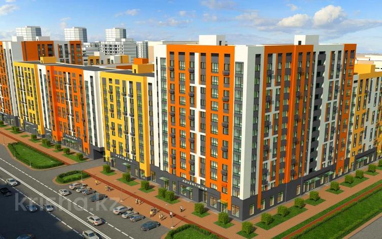 3-комнатная квартира, 77.48 м², Рыскулбекова 29 за ~ 19.1 млн 〒 в Нур-Султане (Астана)