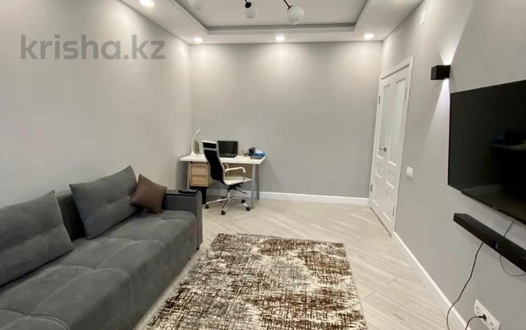 1-комнатная квартира, 40 м², Сатпаева — Туркебаева за 21.7 млн 〒 в Алматы, Бостандыкский р-н