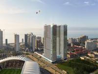 1-комнатная квартира, 29 м², J.Shartava street 16 за ~ 10.5 млн 〒 в Батуми