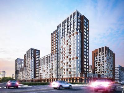 1-комнатная квартира, 42.56 м², 5/19 этаж, Туран — №24 за ~ 14.1 млн 〒 в Нур-Султане (Астана), Есиль р-н