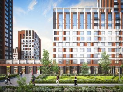 1-комнатная квартира, 42.56 м², 5/19 этаж, Туран — №24 за ~ 14.1 млн 〒 в Нур-Султане (Астана), Есиль р-н — фото 3
