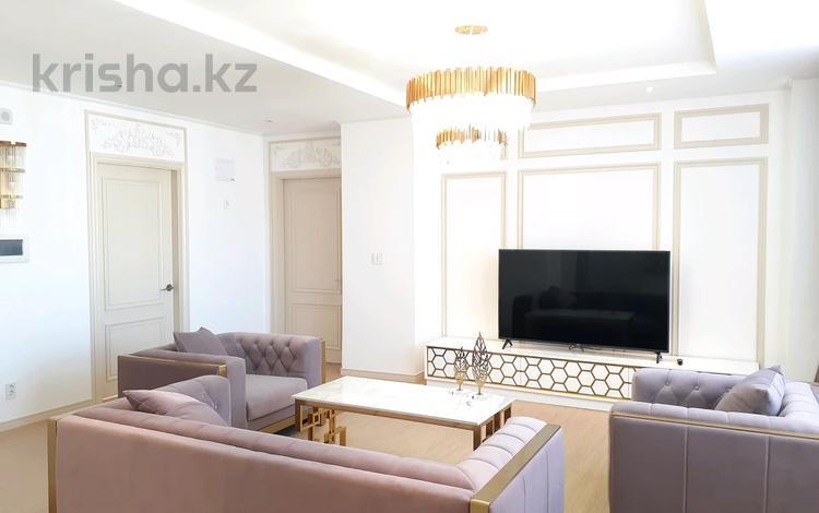4-комнатная квартира, 122 м², 20/22 этаж, Кабанбай батыра 43 за 62 млн 〒 в Нур-Султане (Астана), Есиль р-н