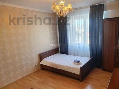 3-комнатная квартира, 110 м², 9/10 этаж посуточно, Достык 14 — Туркестан за 17 000 〒 в Нур-Султане (Астане), Есильский р-н