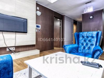 2-комнатная квартира, 80 м², 10/41 этаж посуточно, Байтурсынова 1 — Тауелсиздик за 25 000 〒 в Нур-Султане (Астане), Есильский р-н