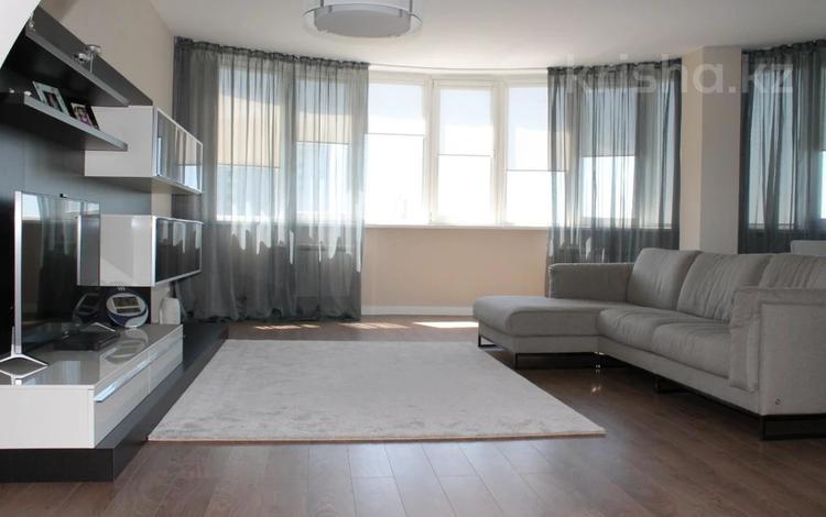 3-комнатная квартира, 126 м², 7/15 этаж помесячно, Гоголя 2 за 460 000 〒 в Алматы, Медеуский р-н