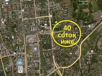 Участок 40 соток, Жарокова — Ходжанова за 860 млн 〒 в Алматы, Бостандыкский р-н