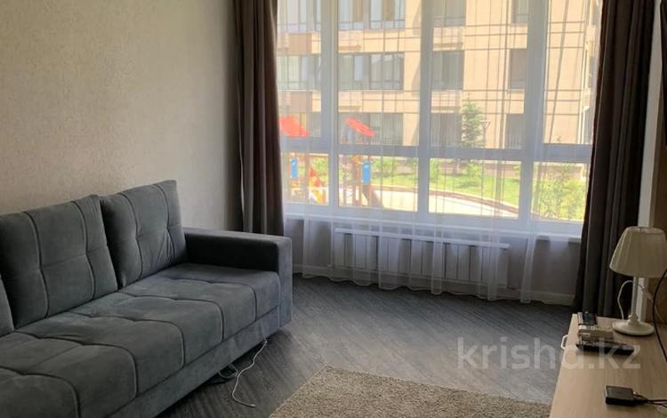 1-комнатная квартира, 40 м², 2/12 этаж помесячно, Тажибаевой за 170 000 〒 в Алматы, Бостандыкский р-н