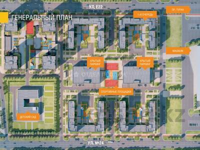 1-комнатная квартира, 41.47 м², Е-22 — E-51 за ~ 11.7 млн 〒 в Нур-Султане (Астана) — фото 8