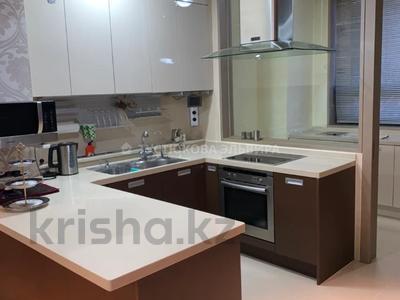 4-комнатная квартира, 156 м², 1/16 этаж на длительный срок, Байтурсынова 1 за 400 000 〒 в Нур-Султане (Астане), Алматы р-н