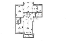 3-комнатная квартира, 100 м², 14/15 этаж, Рахымжан Кошкарбаев за ~ 34 млн 〒 в Нур-Султане (Астане), Алматы р-н