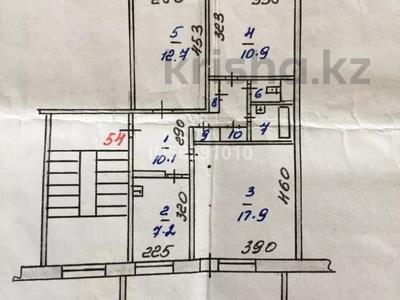 3-комнатная квартира, 64 м², 5/5 этаж, Абая 173 за 15.8 млн 〒 в Костанае