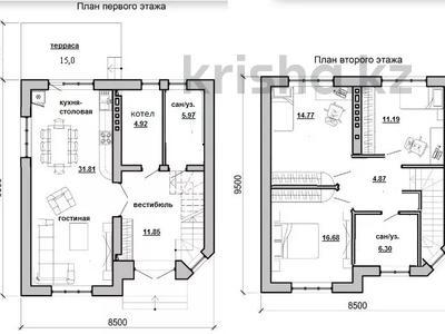 4-комнатный дом, 120 м², 7 сот., Виктория Престиж 3 — Губернаторская за ~ 5.9 млн 〒 в Краснодаре — фото 4