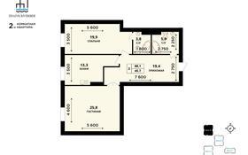 2-комнатная квартира, 88 м², 8/8 этаж, мкр Центральный, Сейфуллина 5В за ~ 26.9 млн 〒 в Атырау, мкр Центральный