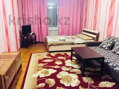 1-комнатная квартира, 45 м², 1/4 этаж посуточно, Пушкина 78 — Кабанбай батыра за 7 000 〒 в Алматы, Медеуский р-н