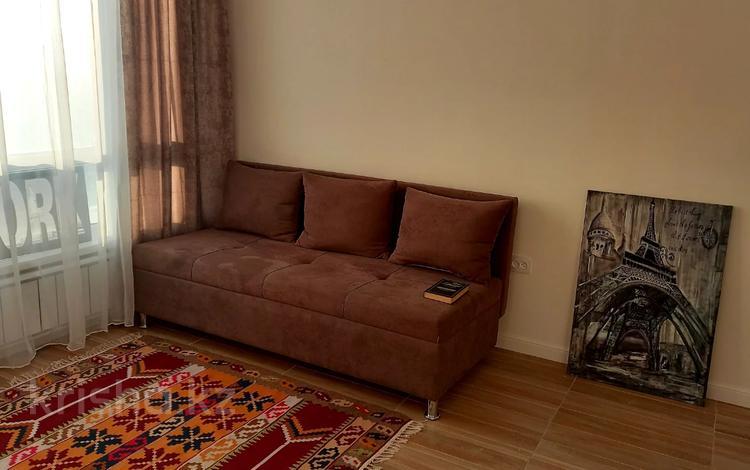 1-комнатная квартира, 37 м², 6/9 этаж помесячно, Тажибаевой 1/2 за 140 000 〒 в Алматы, Бостандыкский р-н