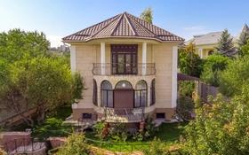 7-комнатный дом, 290 м², 7 сот., Жанатобе — Оспанова за 95 млн 〒 в Алматы, Медеуский р-н