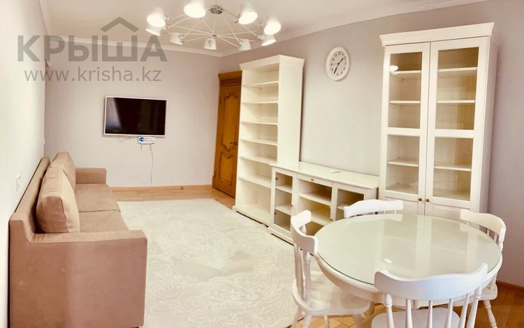 3-комнатная квартира, 62 м², 2/5 этаж посуточно, Туркестанская 2/5 — Байтурсынова за 20 000 〒 в Шымкенте, Аль-Фарабийский р-н