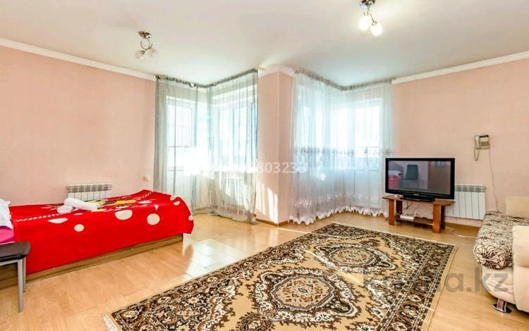 1-комнатная квартира, 55 м², 22/23 этаж посуточно, Сарайшык 5 — Кабанбай батыра за 9 000 〒 в Нур-Султане (Астана)