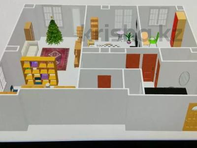 3-комнатная квартира, 92 м², 3/12 этаж, Акан Серы 16 за 20 млн 〒 в Нур-Султане (Астана), Сарыарка р-н — фото 11