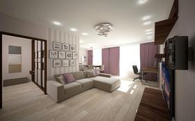 2-комнатная квартира, 50 м², 11/18 этаж посуточно, Туркестан 2 за 9 000 〒 в Нур-Султане (Астана), Есиль р-н